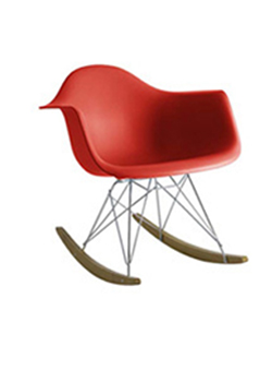 Cielshop kids eames style rocking chair for Rocking chair dsw