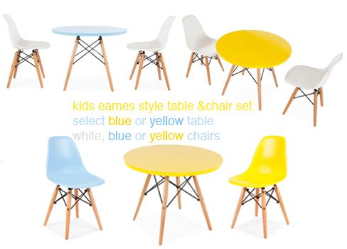Kids Eames Style Furniture Danish Design Scandinavian