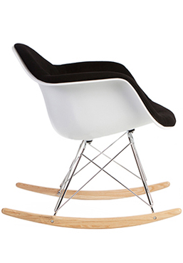 Rocking Chair, Mid century modern eames style rocking chair,